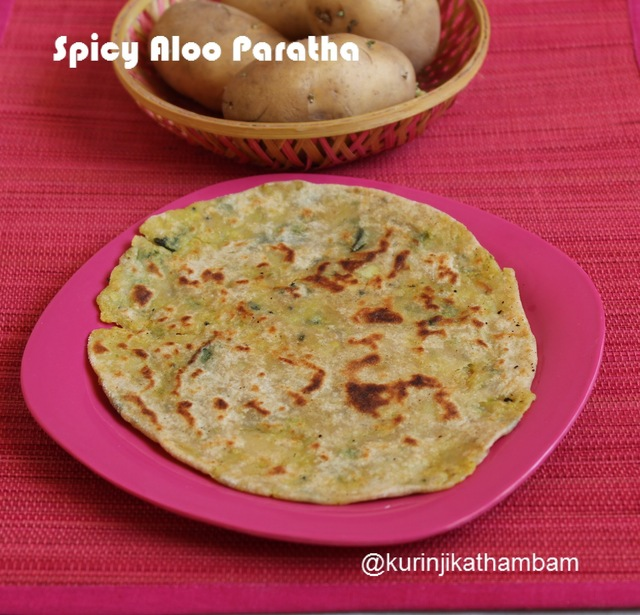 Spicy Aloo Paratha | Easy Paratha Recipes