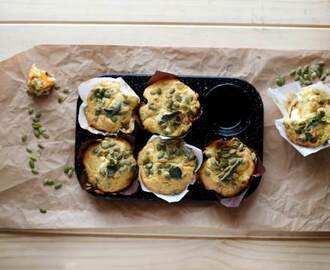 Pumpkin, Feta and Pepita Muffins