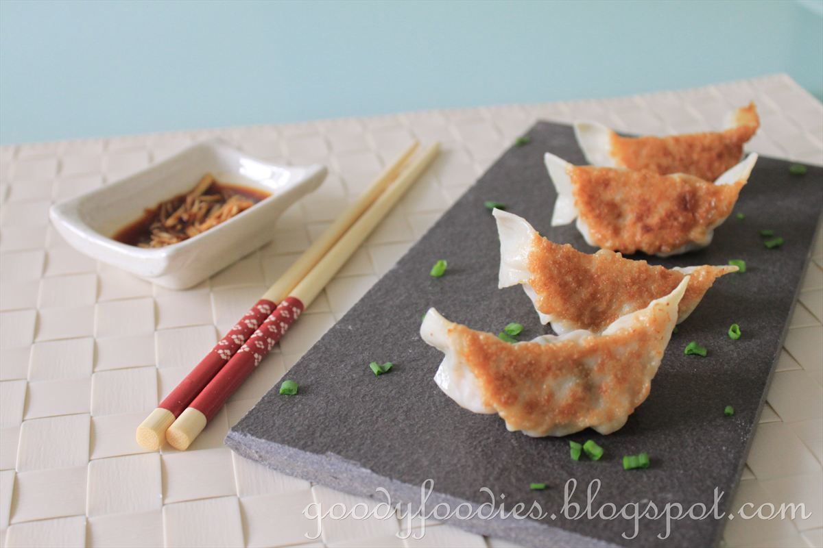Recipe: Japanese gyoza (potsticker) 餃子