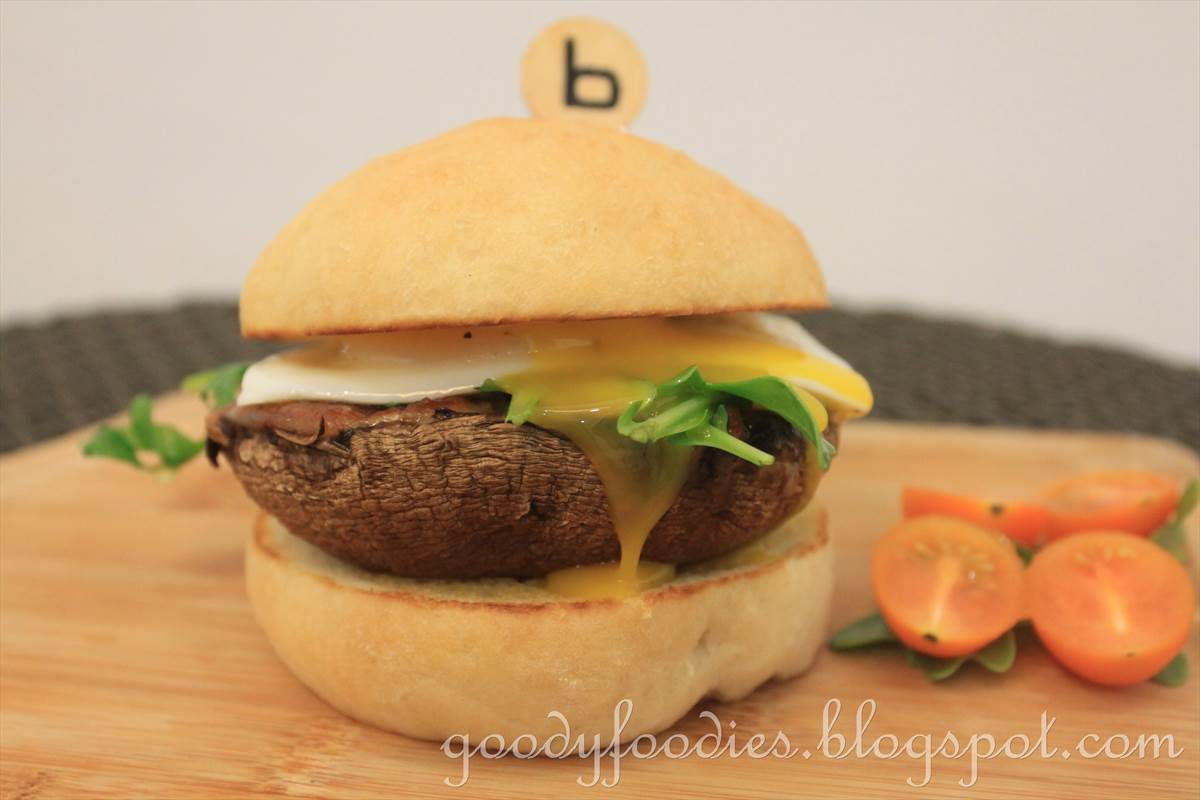 Recipe: Veggie Burger (Grilled Portobello Mushroom with Mozzarella)