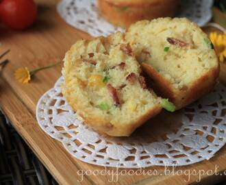 Recipe: Corn and bacon savoury muffins (Curtis Stone)