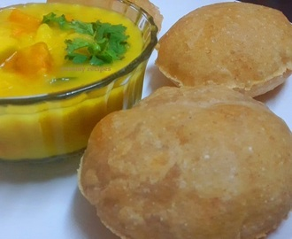 Poori/ Potato Bhaji recipe