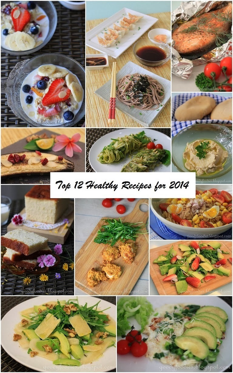 Baby Sumo's Top 12 Healthy Recipes for 2014!