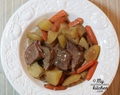 Slow Cooker Pot Roast {Gluten-free}