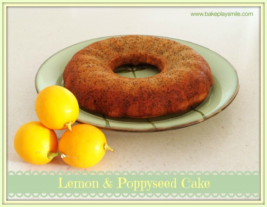 Lemon & Poppyseed Syrup Cake