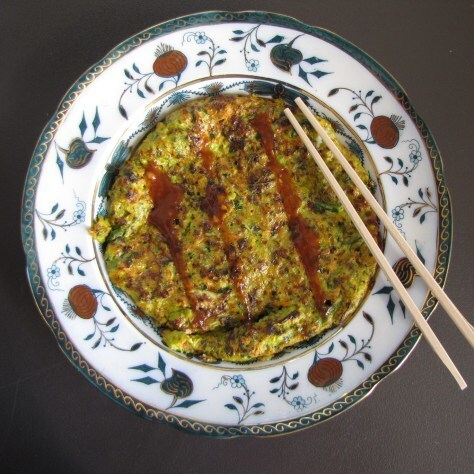 Japanese Vegetable Pancakes – Okonomiyaki