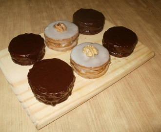 Alfajores tipo marplatenses