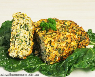 Chicken and Spinach Meatloaf