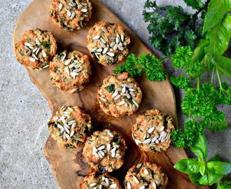 Cheesy Vegetable & Herb Muffins