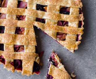 Thermomix Apple Blackberry Tart