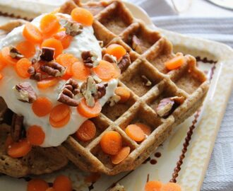 Sunday Breakfast: Carrot cake wafels