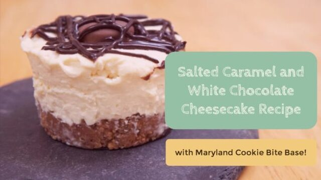 Salted Caramel and White Chocolate Cheesecake Recipe