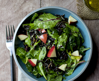 Wild Rice & Baby Greens Salad
