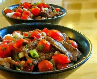 Southwestern Steak and Rice Bowls