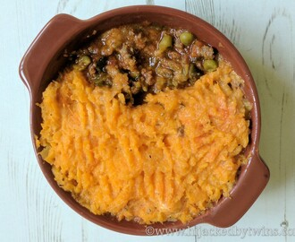 Cottage Pie Topped with Butternut Squash - Pressure King Pro Recipe