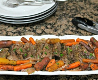 Balsamic Roast in a Slow Cooker