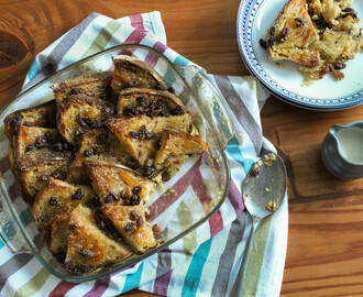 Marmalade Bread & Butter Pudding