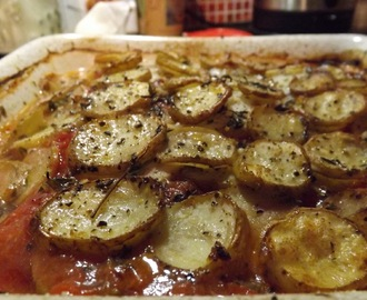 Persevere and it will happen. Cod baked in the Oven with Potatoes
