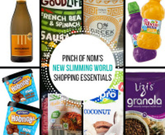 New Slimming World Shopping Essentials – 17/2/17
