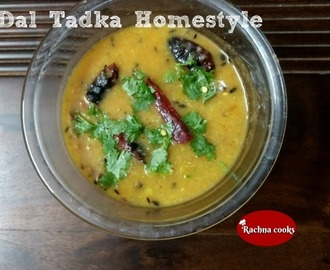 Dal Tadka Homestyle Recipe
