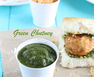 Green Chutney | Coriander & Mint Chutney | Chutney for Chaat Items