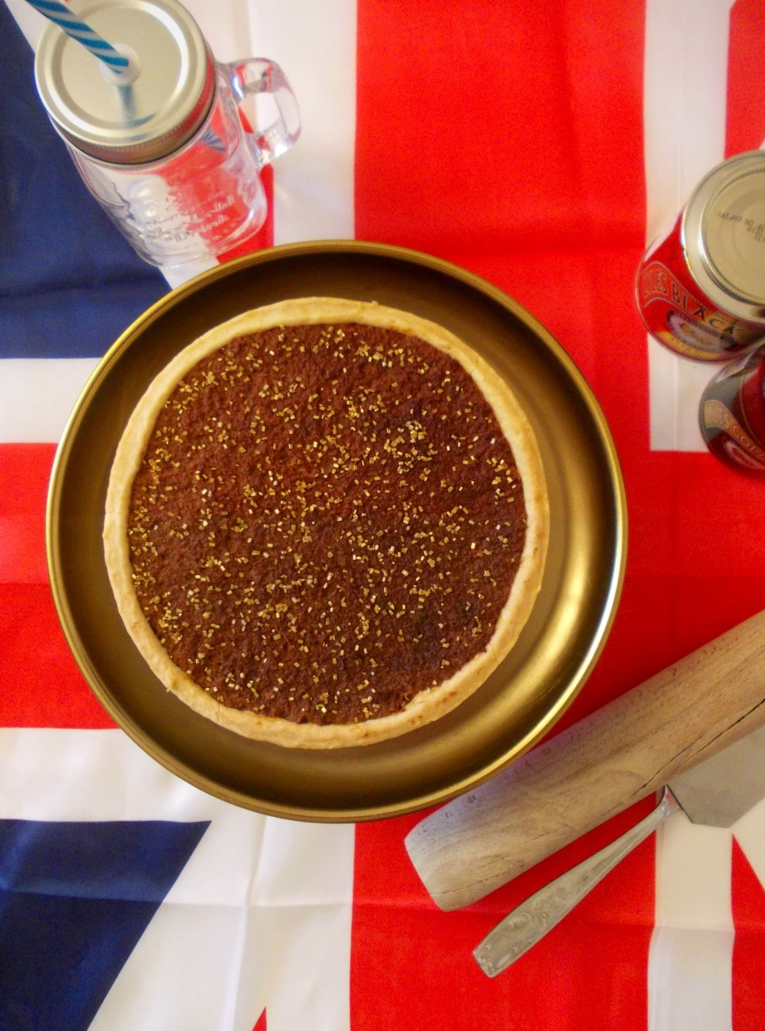 Treacle tart (tarte à la mélasse) - Battle Food #48