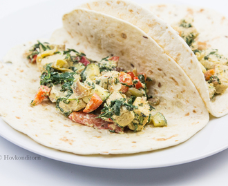 Quorn with Spinach and Cream Cheese