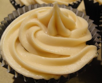 Guinness Cupcakes with Baileys ganache filling and Baileys buttercream icing