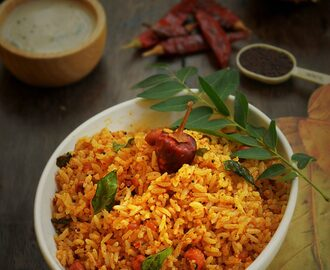 KAYI SASIVE CHITRANNA / COCONUT MUSTARD RICE RECIPE