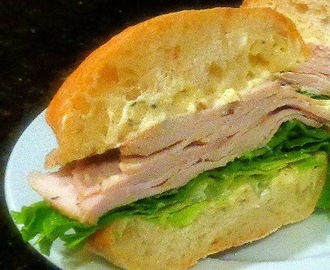 A Fabulous Roast Pork Sandwich with Rosemary Aioli