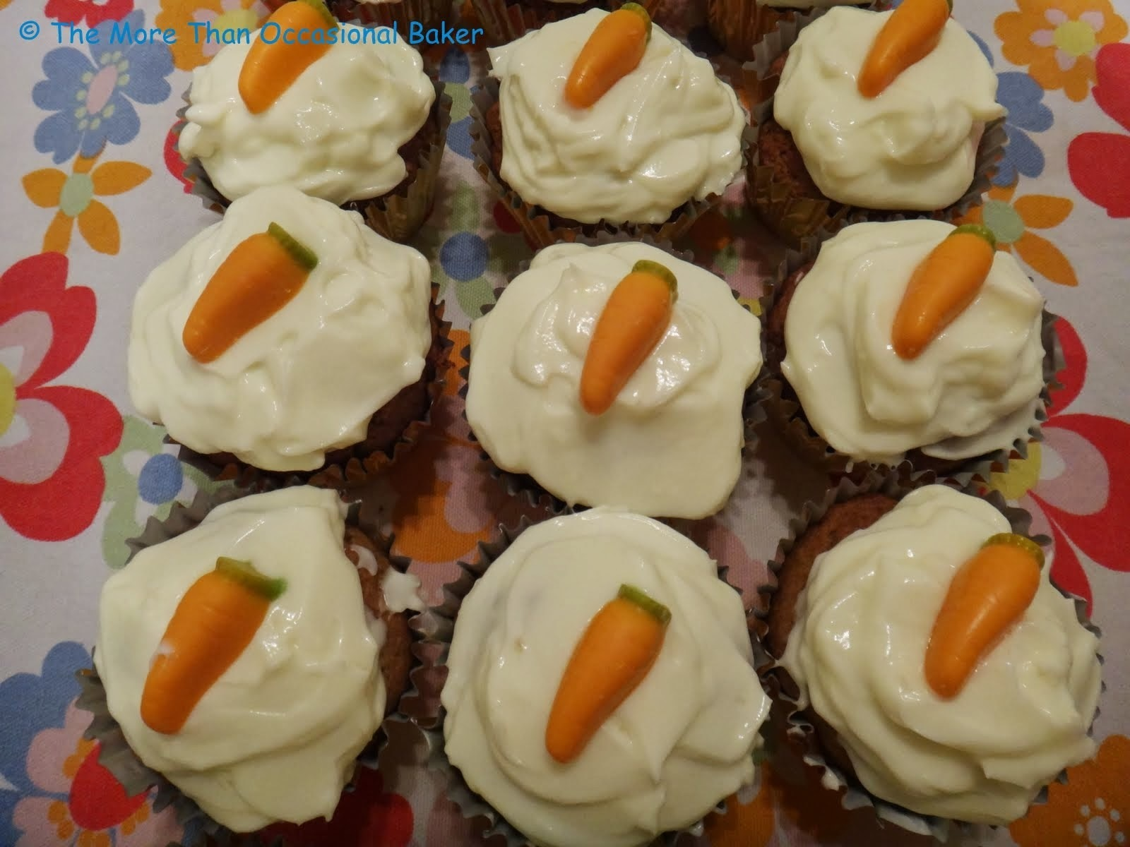 Carrot Cake Cupcakes and a review