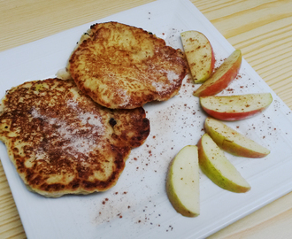 Vegan Breakfast: Apfel-Pancakes
