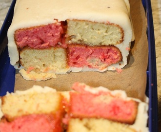 Battenburg and the inaugural meeting of the Sutton Clandestine Cake Club
