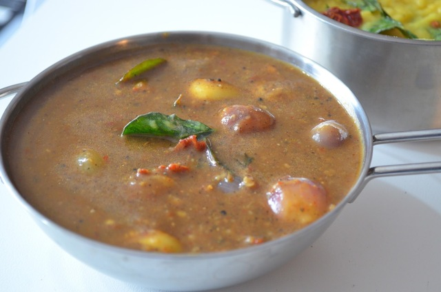 Milagu kuzhambu (Black Pepper Stew)