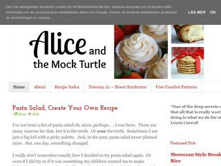 Alice and the Mock Turtle