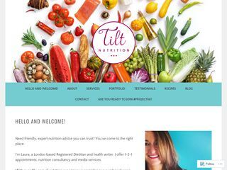 tiltnutrition | Straight talking nutrition services
