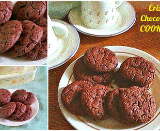 CRISP CHOCOLATE COOKIES RECIPE