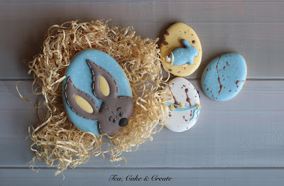 Easter Plaque Cookies
