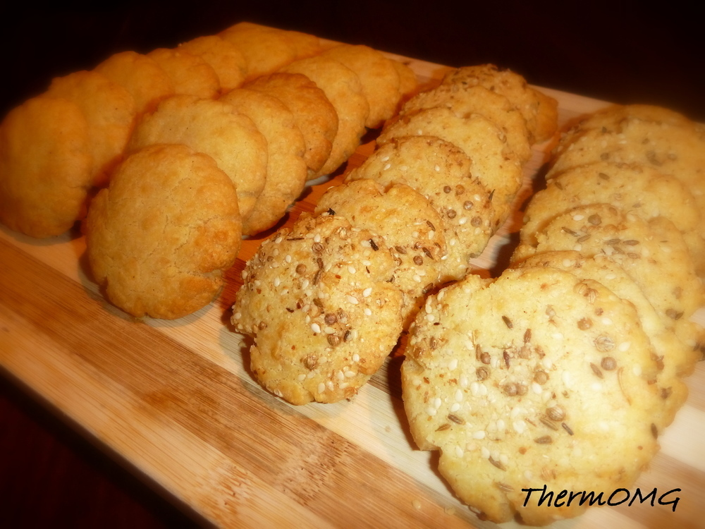 Cheese Biscuits (with Dukkah)