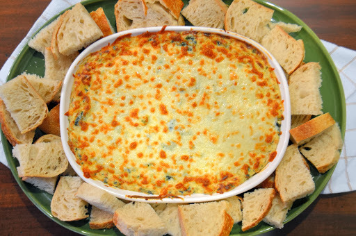 Sizzlin' Spinach and Artichoke Dip