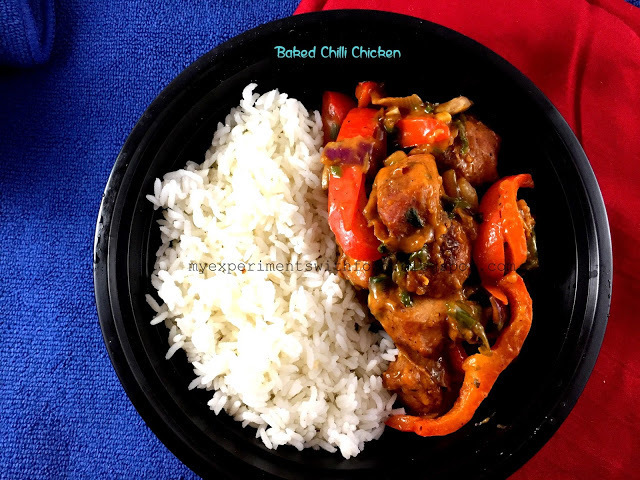 Oven Baked Chili Chicken