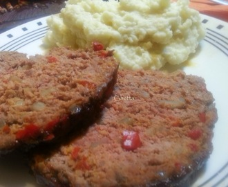 Pan de carne o meatloaf
