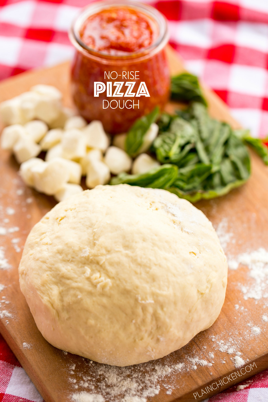 No-Rise Pizza Dough