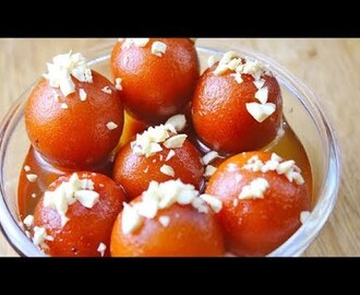 gulab jamun recipe with instant khoya | How to make gulab jamun at home | easy gulab jamun recipe - YouTube
