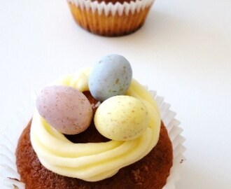 Easter Jaffa Cupcakes