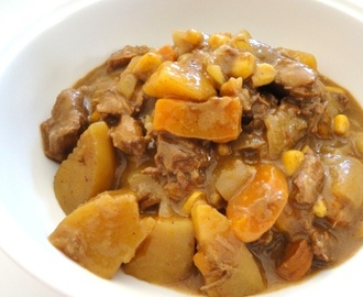 Slow Cooker Beef with Root vegetables
