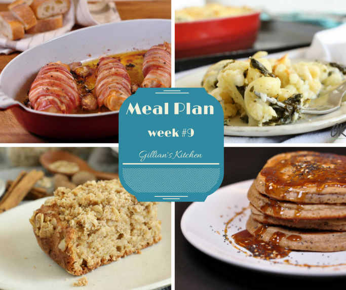Weekly Meal Plan (Week 9)