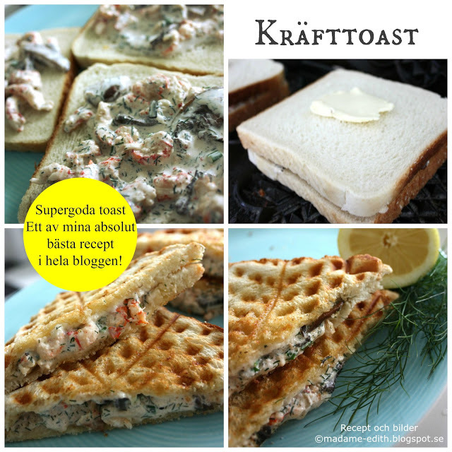 Madame Edith - Recept: Kräfttoast