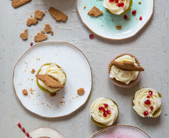 Christmas Gingerbread Cupcakes & Amazing Plates