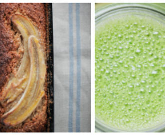 Teresa Cutter's Gluten Free Banana Bread and Green Smoothie